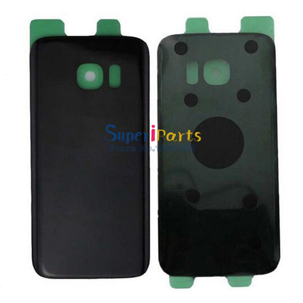 Original New Rear Battery Door For Samsung Galaxy S7 G930 Housing Back Glass Cover Back Cover With Logo Sticker Tracking NO.