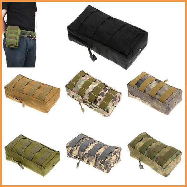Camping Hiking Bag Pouch Tactical Military Molle Modular Utility Magazine Pouch Accessory Medic Bag