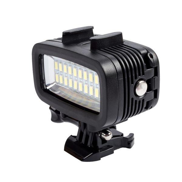 Freeshipping Underwater Light 40m Diving waterproof Video LED-20 20pcs Fill light for Go pro Sport camera SJ4000 Xi aomi yi Accessories