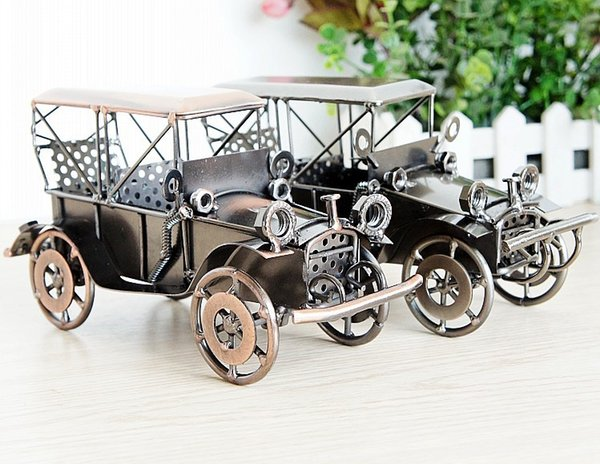 model toys metal material ford classic cars the first generation car kids toys