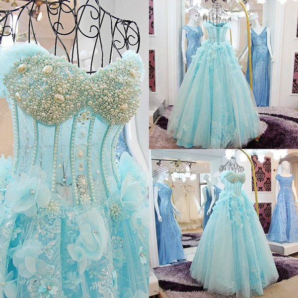 2018 turquoise wedding dresses off the shoulder beaded princess 2018 turquoise wedding dresses off the shoulder beaded princess plus size sweetheart tulle wedding gowns a junglespirit Gallery