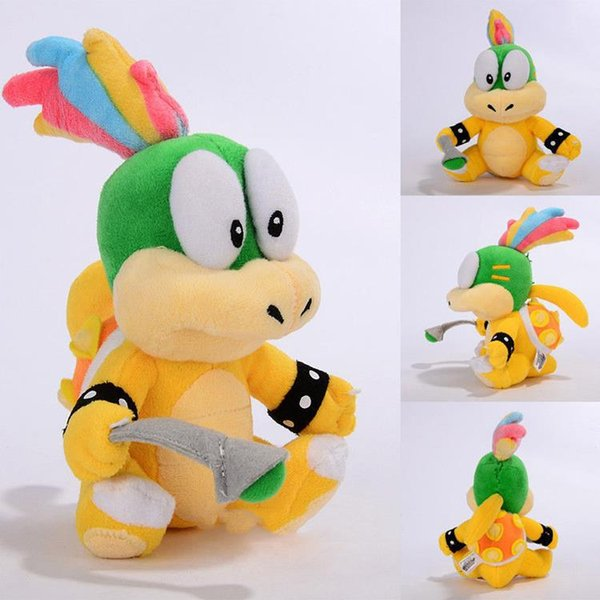 5pcs/lot Super Mario Bros 2 Lemmy Koopa Koopaling Plush Doll Soft Toy Stuffed Animal Toys 6