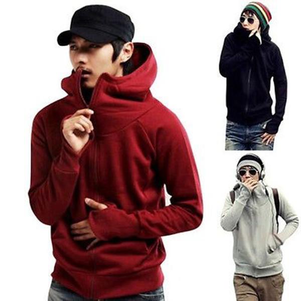Winter Men/'s Hoodie Warm Hooded Sweatshirt Coat Jacket Outwear Sweater Slim Tops