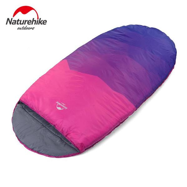NH cool shell grand espace joli sac de couchage couleur super grand élargissement sacs de couchage hiver printemps chaud 230cm * 100cm simple
