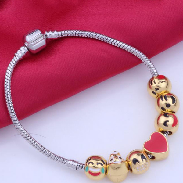 18-Inch Hamilton Gold Plated Necklace with 4mm Rose Birthstone Beads and Gold Filled Saint Valentine of Rome Charm.