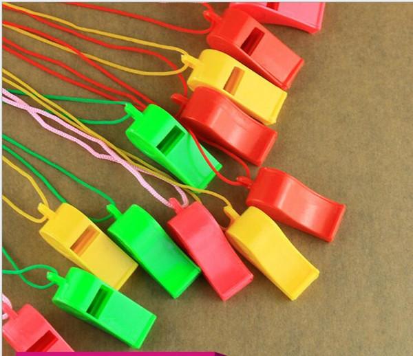 Plástico de alta calidad para la Educación Tipo Juguetes silbido del pájaro de agua al aire libre safty llamadas de pesca silbatos silbato libre de los cabritos del envío silbato de juguete
