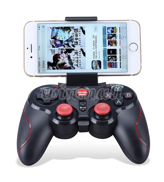 DHL 20pcs S5 Bluetooth Wireless Game Controller Gamepad Joystick for IOS iPhone iPad Android Smart Phone Smart TV VR Box