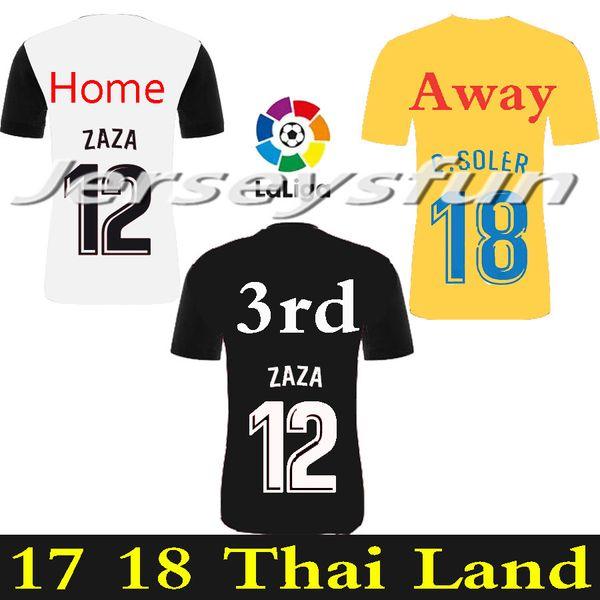 reputable site 8ff03 4e613 2019 New FUTBAL Camisa Valencia 2018 Soccer Jerseys,Chandal Valencia Jersey  Valencia CF 17 18 Thai Munir 2017 Nani Gaya Kondogbia C.Soler Parejo From  ...
