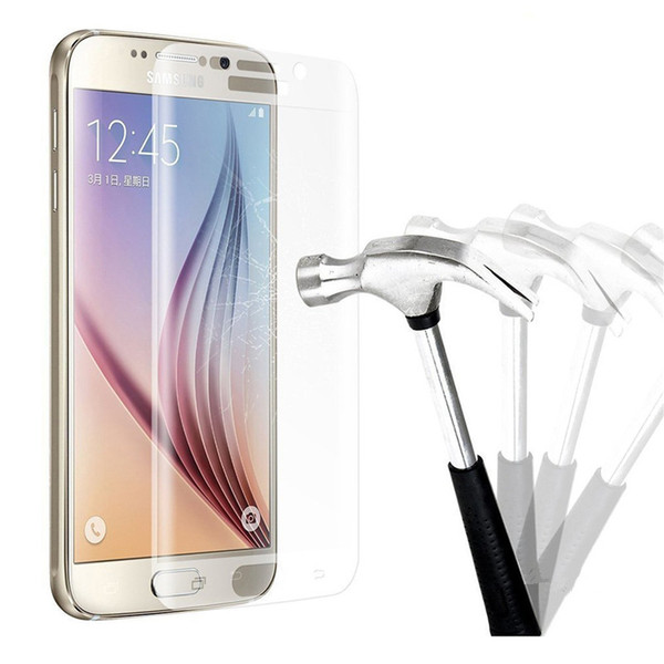 Premium Tempered Glass Screen Protector For Samsung Galaxy S6 Edg Plus Toughened Protective Film With Retail Package