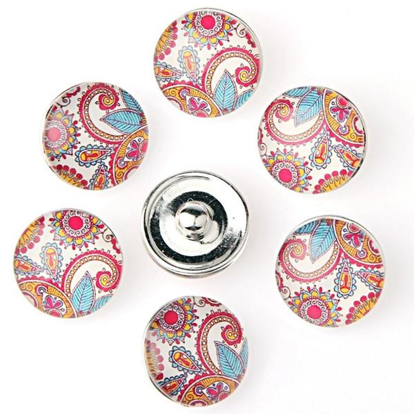 50 шт./лот Оптовая имбирь щелкает браслеты браслеты подходят 18 мм оснастки кнопка fit оснастки кнопка KZ203 изготовление ювелирных изделий