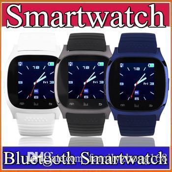 2015 Bluetooth Smart Watches M26 Watch for iPhone 6/4/4S/5/5S Samsung S5/S4/Note 3 HTC Android Phone via free DHL G-BS