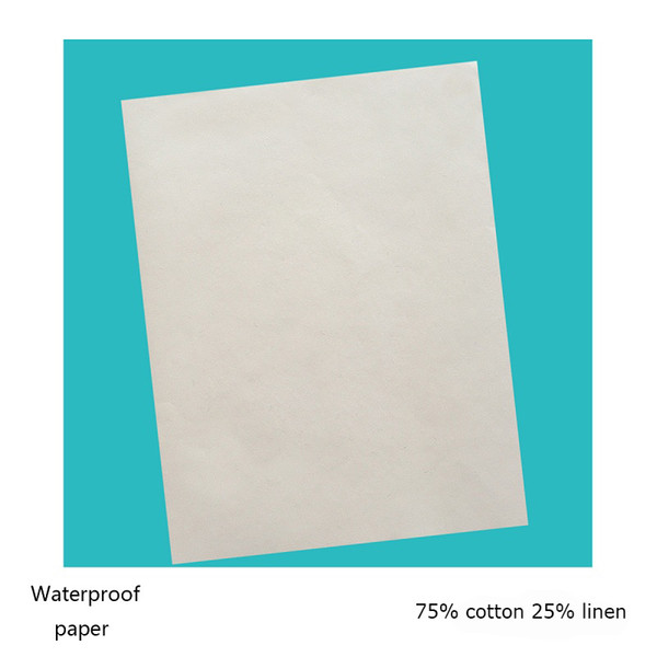 150pcs printinng paper starch free acid free waterproof types with red and blue fber white color (JQ17427)