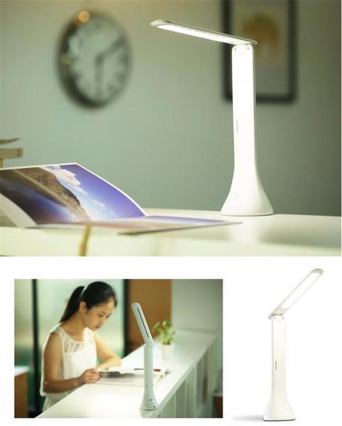Lâmpada de Mesa LED Pode Ser Escurecido Luz de Leitura de Livro de Toque USB Luz de Leitura Portátil Dobrável Lâmpada de Mesa