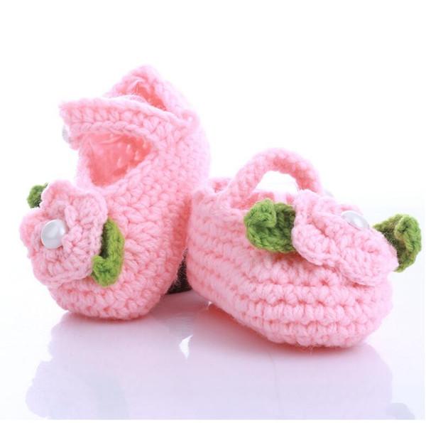 custom your logo baby handmade flower shoes lovely flower girls and boy size 11cm for new born kids shoes 10pcs/lot