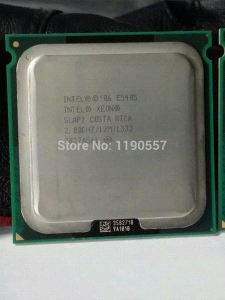 Intel Xeon E5405 SLAP2 / SLBBP Prozessor 2,0 GHz / LGA771 / 12 MB L2 Cache / Quad Core / Server Server Edition Server os