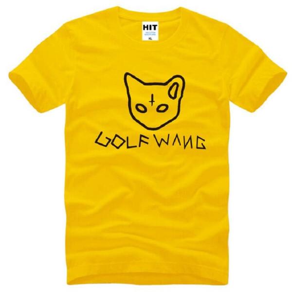 New Fashion Odd Future GOLF WANG OFWGKTA T Shirts Men Cotton Short Sleeve Golf Wang Tyler