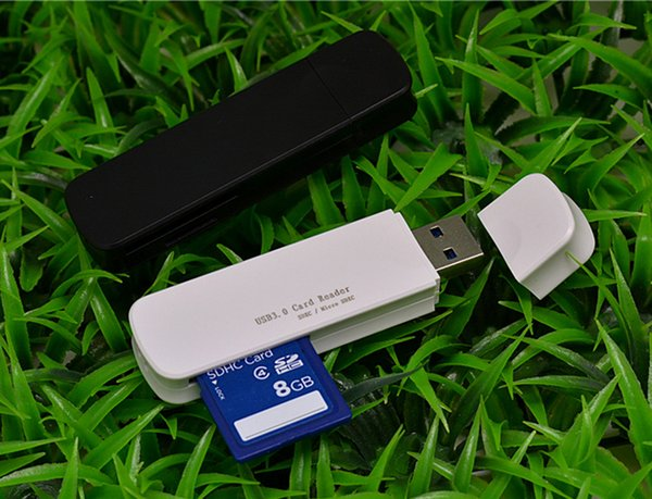 High speed USB 3.0 SD/Micro SDXC SDHC Memory Card Reader SD/MicroSD/TF Trans-flash Card USB3.0 Adapter Converter Tool