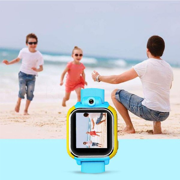 Wholesale- GPS Watch 3G For Kids SOS Emergency WCDMA Camera GPS LBS WIFI Location Smart Wristwatch Q730 touch screen 1.54'