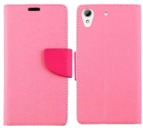 Magnetic Cell Phone Wallet Case Card Slots Folio Flip Cover for HTC Desire 626 A22 HTC 612 610 HTC Desire 530 520 510