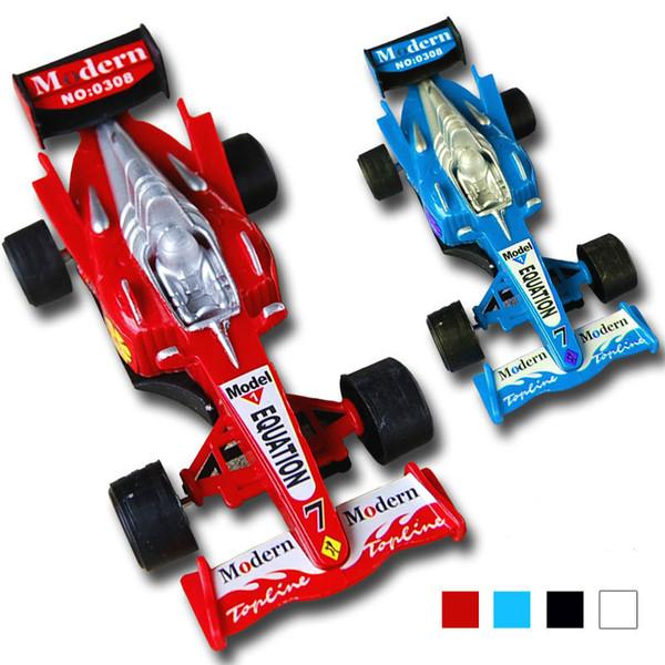 Juguetes educativos para niños Venta al por mayor Nuevo lote mixto de pequeños F1 Racing Toy Warrior Model Cars