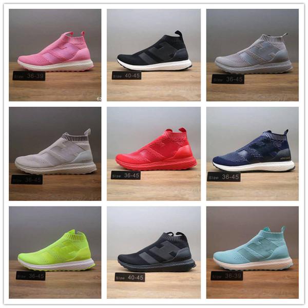 01 New ACE 16+ Pure Control Ultra Boost Sneakers Super stylish footwear pk Soccer style City Sock Men Women Mid Sports shoes cheap sale original best prices cheap free shipping best prices cheap online axZZ9K