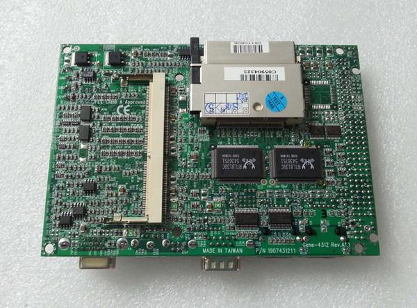 3.5 Motherboard For AAEON Gene-4312 Rev A1.1 Industrial Mainboard NS Geode GX1 PC104 PC/104 ISA Board