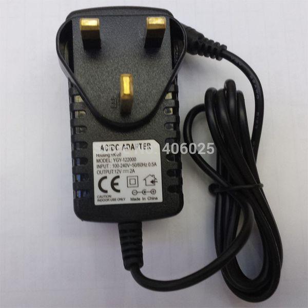 1PCS 12V2A AC 100V-240V Converter Adapter DC 12V 2A 2000mA Power Supply EU AU UK US Plug Power Source 5.5mm x 2.1mm for CCTV Power Adapter