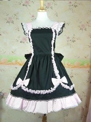 (LLT004) Long Sleeveless Sweet Lolita Short Dress Ball Gown Fancy Prom Dress Halloween Party Masquerade Costume