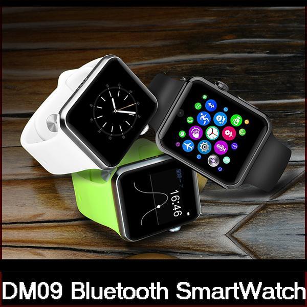 Lemfo DM09 Bluetooth Smart Watch 2.5 D ARC HD экран поддержка SIM-карты носимых устройств Smartwatch Magic Knob для IOS Android DHL бесплатная доставка
