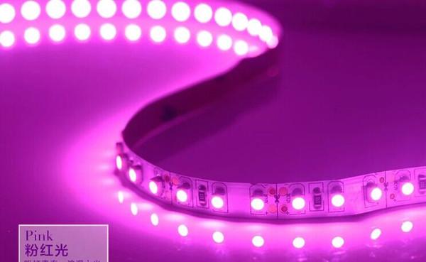 120LEDs / M SMD3528 WW Vert Bleu Jaune LED Lumière de bande flexible 3600-4200LM blanc | jaune | noir PCB IP33 65 67 68 5meters étanche