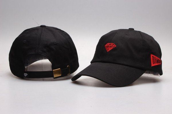 Diamant-Versorgungsmaterial-Co-Kugel-Kappen-kühle Baseballmütze-Hip Hop-Hysteresen-justierbare Hysteresen-Mann-Frauen-Sommer-Sun-Hut-Masken-Kappe