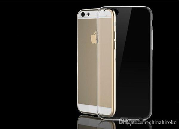 IPhone Fall nehmen 0.3 Millimeter transparenten TPU-Silikon-Kasten für Apple Iphone6 /4.7 Iphone6 plus /5.5 Iphone5 / 5S Iphone4 / 4S ab Freier DHL
