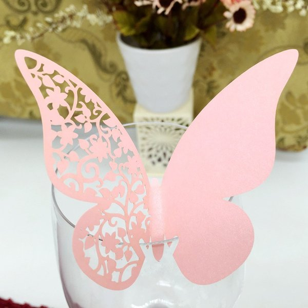 2018 Wedding Decoration Laser Cut Butterfly Place Settings From ...