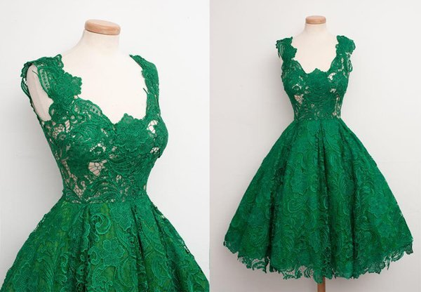 Emerald Green 2016 New Short Prom Party Dresses Real Sample Fluffy ...