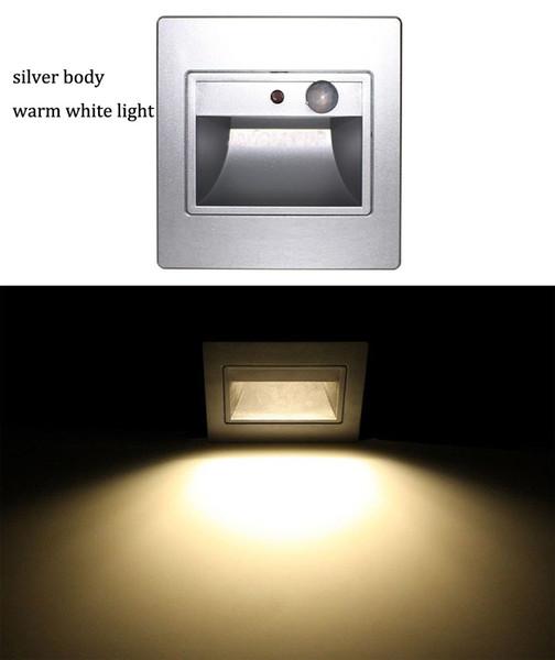Silver warm white lights