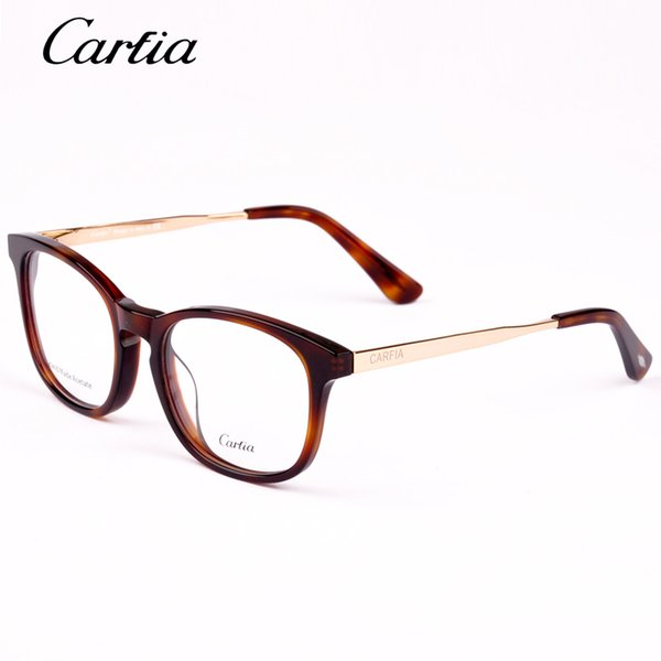 Carfia Brand Designer Reading glass frames mens 5123 Fashion computer myopia prescription glasses frame for women