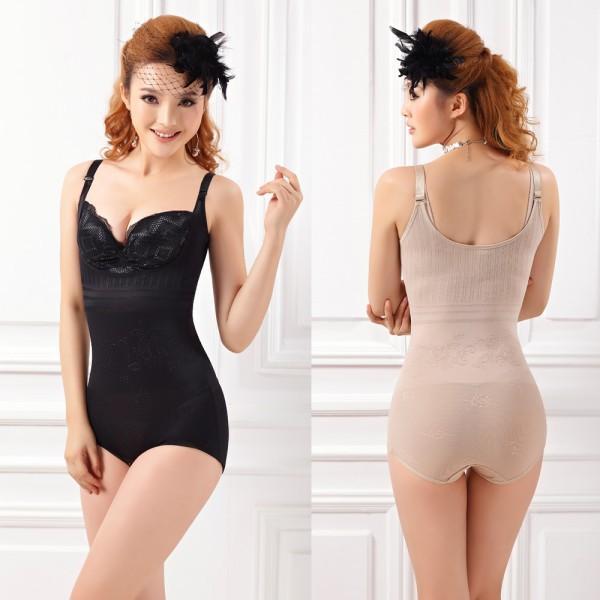 Wholesale-Women's Slimming Girdler Underbust Shapewear Cincher Full Body Suit Shaper Firm Girl &YRD