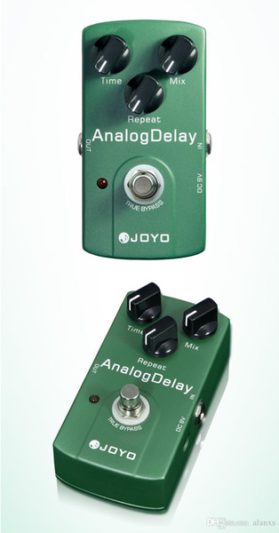 Free Shipping Electronic New Joyo JF-33 Analog Delay Electric Violao Guitarra Guitar Effect Pedal True Bypass Musical Instrument Parts I293