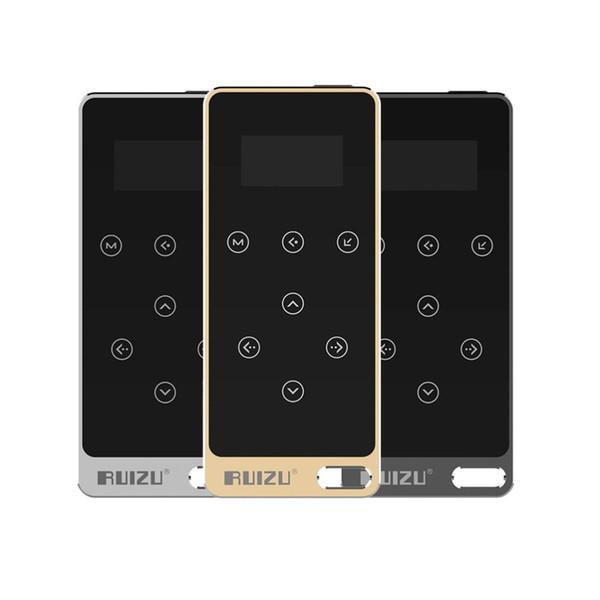 Original RUIZU X05 HIFI MP3 Player 8GB Touch Button Lossless Sound 1.1 inch Screen Support FM,E-Book Recording Music Player