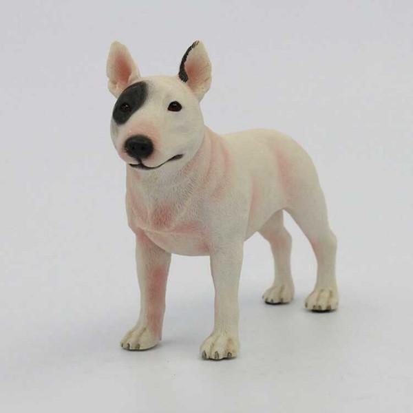2019 Kids Toy Simulation Dog Figurine Crafts Squatting Dogs Genuine