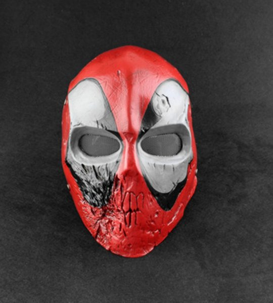 Skull Killer deadpool CS Helmet Masks Full Face Cartoon Masquerade Cosplay Alternative Superhero Horror Deadpool Adult Mask