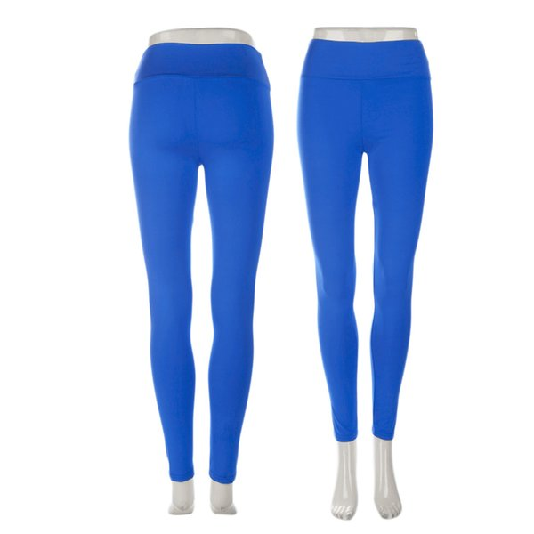 Wholesale-Outdoor Exercise Trousers Tight Leggings Fitness Sport Yoga Running Sport Pants High Waist Cropped Leggings Fitness Trousers