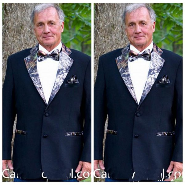 Custom Camouflage Tuxedos Vogue Camo Groom Father Wedding Suits ...