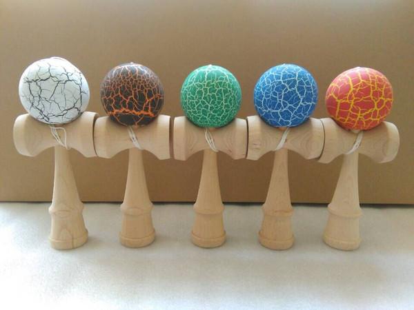 100pcs 18.5cm jade sword strings professional japan japanese toy crack KENDAMA ball Leisure Sports wooden game toy
