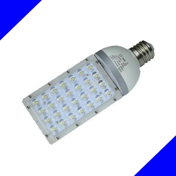 도매 - 28W E27 E40 LED 거리 조명 따뜻한 또는 차가운 흰색 야외 정원 공원 주도 가로등 AC90V - 265V 무료 배송