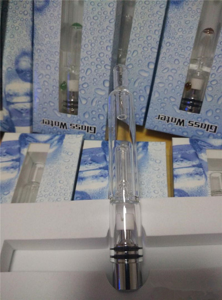 New Pyrex Glass Hookah rda atomizers vhit atomizer tank Dry Herb Wax Vaporizer dry herbal vaporizers pen water filter pipe ecig bongs