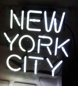 """New York City Neon Sign Handcrafted Custom Art Home Decoration Real Glass Tube Neon Signs Free Desgin For You 16""""X16"""""""