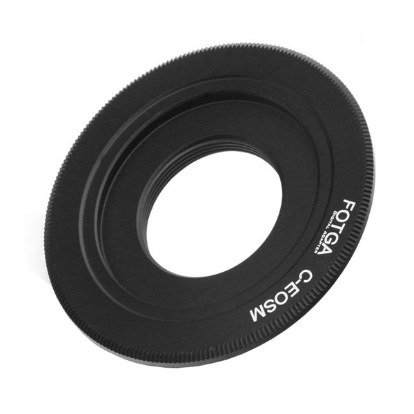 FOTGA Adapter For C Mount Movie Lens To Canon EOS M M2 M3 EF-M Mirrorless Camera