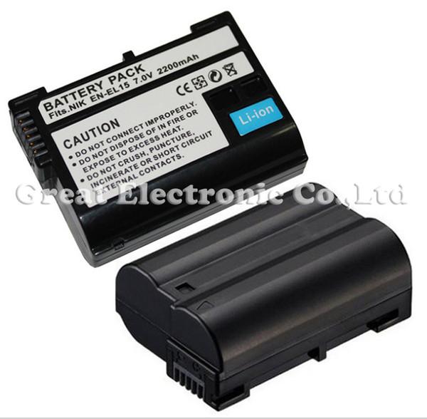20pc,EN-EL15 ENEL15 rechargeable replacement digital camera camcorder lithium Battery for Nikon D7000 D800 E MB-D12 MB-D11 V1,drop shipping