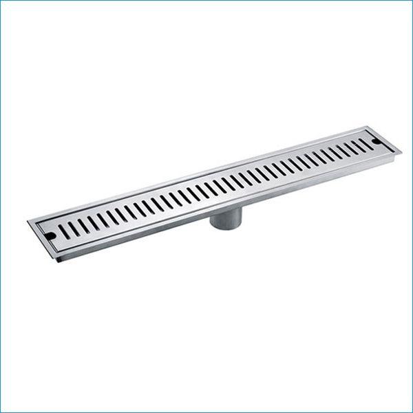 top popular 50cm Stainless steel Deodorization Drainer,linear floor drain,bathroom floor drain,Free Shipping J14169 2021